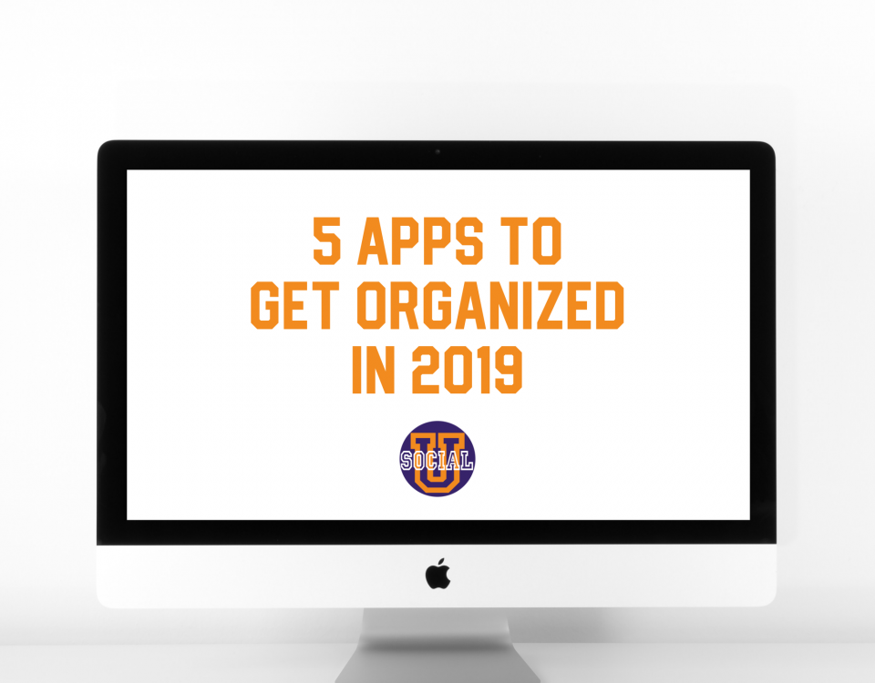 5 Apps to Get Organized in 2019