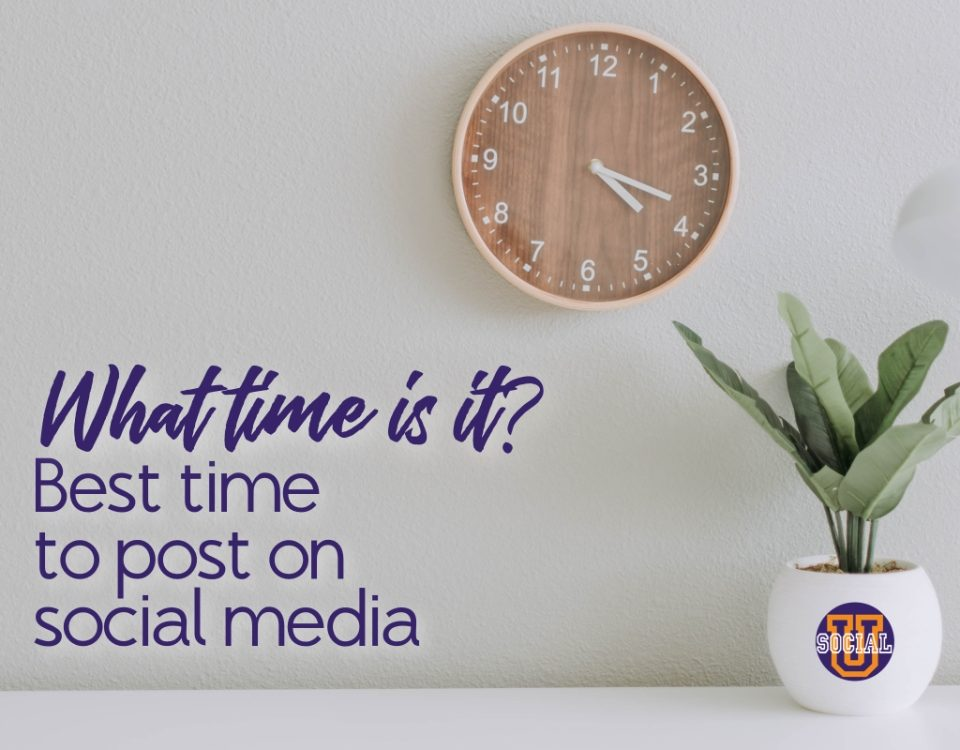 What Time is It? Best Times to Post on Social Media