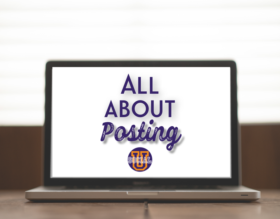 All About Posting: What Inquiring Minds Want to Know
