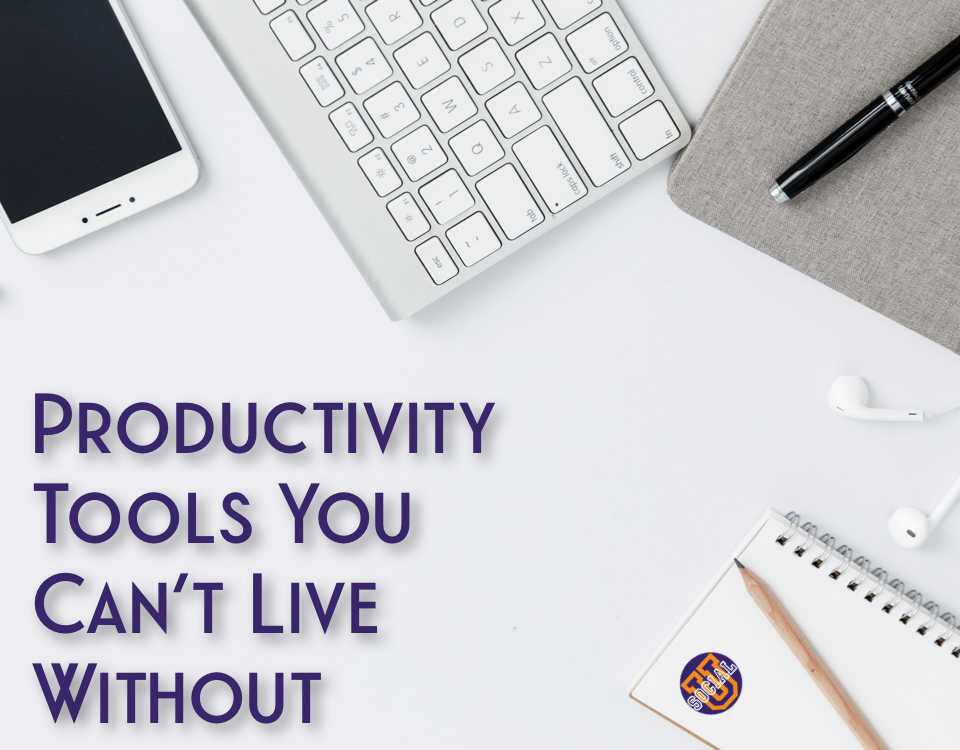 6 Productivity Tools You Can't Live Without