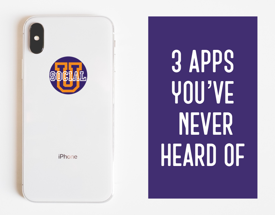 3 Apps You've Never Heard of That You Will Love
