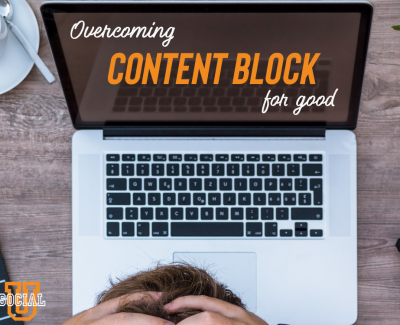 Overcoming Content Block for Good